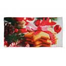 handdoek Kerst ontwerp 80 x 40 cm