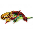 Snake of plush, 300 cm