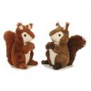Écureuil en peluche, 25 cm