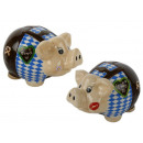 Piggy bank Oktoberfest made of ceramic 18.5x11.5cm