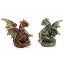 Poly dragon, 4x3x5cm