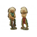 wholesale Toys: Indian standing out of polly, 15 cm