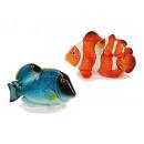groothandel Speelgoed (algemeen): Clown en Doktorfisch van poly, 17 cm