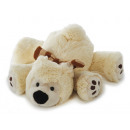 wholesale Dolls &Plush: Polar bear from plush, lying, 25 cm
