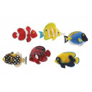 wholesale Magnets: Magnetic fish from poly, 6 cm