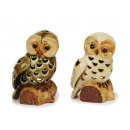 wholesale Candles & Candleholder: Windlight owl from porcelain, 15 cm