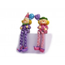 grossiste Déguisements et costumes: Clown Kantenhocker de poly, 11 cm