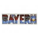 Großhandel Holzspielzeug: Magnet aus Holz 3D Bayern, 13x3,5cm