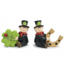 Chimney sweep made of poly 7x3x6cm