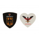 wholesale Gifts & Stationery: Magnet 'Germany' made of leather, 5cm