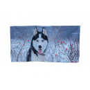 wholesale Bath & Towelling: towel Huskydesign 40 x 80 cm