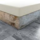 wholesale Bedlinen & Mattresses: Fitted SheetJersey ecru roll 30 cm corner height,