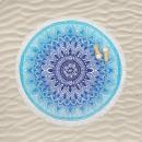 mayorista Toallas de baño: toalla de playa bt redonda ibiza, diámetro 150