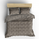 duvet cover pierre cardin Jersey leaf taupe, 16