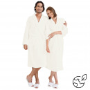 wholesale Bath & Towelling: cotton bathrobe ecru, S / M