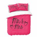 wholesale Bedlinen & Mattresses: dc mr and mrs hot pink, 200X200 / 220 NL