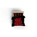 Paplanhuzat rock n roll red, 160x200