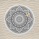 wholesale Bath & Towelling: bt beach towel round bali, Diameter 150