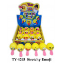 wholesale Toys: Emoji jumping ball with tongue - in the Display