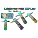 Kaleidoscope with LED light