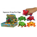 Squeezy frogs - in the Display