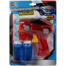Bubble gun manually car