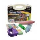 Jumbo chalk set - water soluble - in a plastic cas