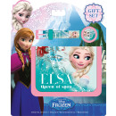 frozen purse and digital clock in set