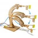 Hidraulikus robotkar - a színes doboz