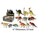 Dino figuren 15 cm in het Display - het Display