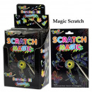 Scratch magic magic paper - in the Display