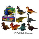 Dino figures with retreat 10 cm in the Display - i
