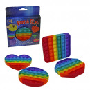 Pop & Fly fidget Rainbow - large - in VE