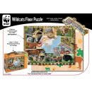 WWF Floor Puzzle gatos monteses
