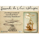 Leonardo Da Vinci Helicopter - in the color box