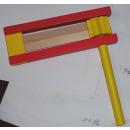 Großhandel Holzspielzeug:Holz-Ratsche-Bunt