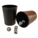 Dice cup - a belső dobozban