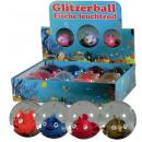 Glitterball fish glowing 65mm - in the Display