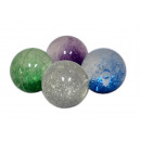 Glitterball / Hexenkugel 100 mm - in the Display