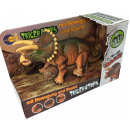 Dinofigur Triceratops with movement and sound