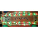 Mini skateboard transparent green with LED light a