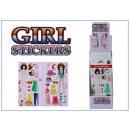 Großhandel Geschenkartikel & Papeterie: Girl Sticker - im Display