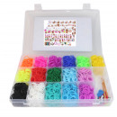 Funky knotting rings Silicone collecting box 3600