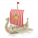 Großhandel Holzspielzeug:Wickie Holzboot