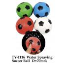 Spray voetbal - in Display