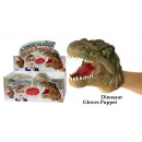 groothandel Poppen & Pluche: Handpop Dino / crocodile - in Display