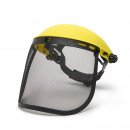 Protective Face Shield with Steel Mesh