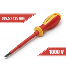Screwdriver 1 x 5,5 x 125 mm 1000V