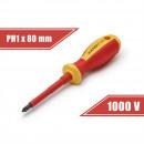 Schraubendreher PH1 x 4,5 x 80 mm 1000V
