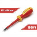 Screwdriver PZ2 x 100 mm 1000V